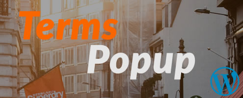 WP Terms Popup WordPress Plugin